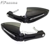 "Brand New Pazoma 1"" 7/8"" Carbon Motorcycle Handguard Fit For Honda Kawasaki KTM"