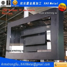 "XAX1076TVE exterior IP66 IP67 stainless steel 74"" 74 inch electronic marquee sign Advertising display"