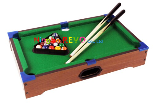 Tabletop Pool Table with light