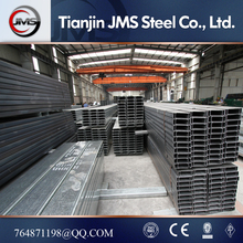 GB Standard Hot Rolled C Shape/Channel/Type/Profile Steel Purlin