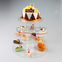 3 Tiers Wedding or Birthday Party Tree Tower Acrylic Cupcake and Food Display Stand