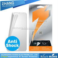 Anti shock glass screen protector cover for iphone 5 5c 5s