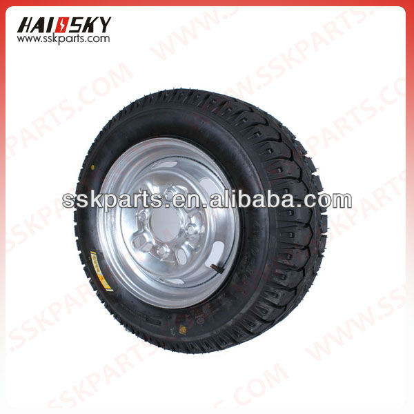 HAISSKY HAIOSKY motorcycle parts spare 4.50-12 tyre and tube for motorcycle tricycle from China dealers