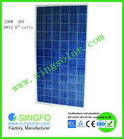 High Effeciency 300w Poly Solar Modules In Stock