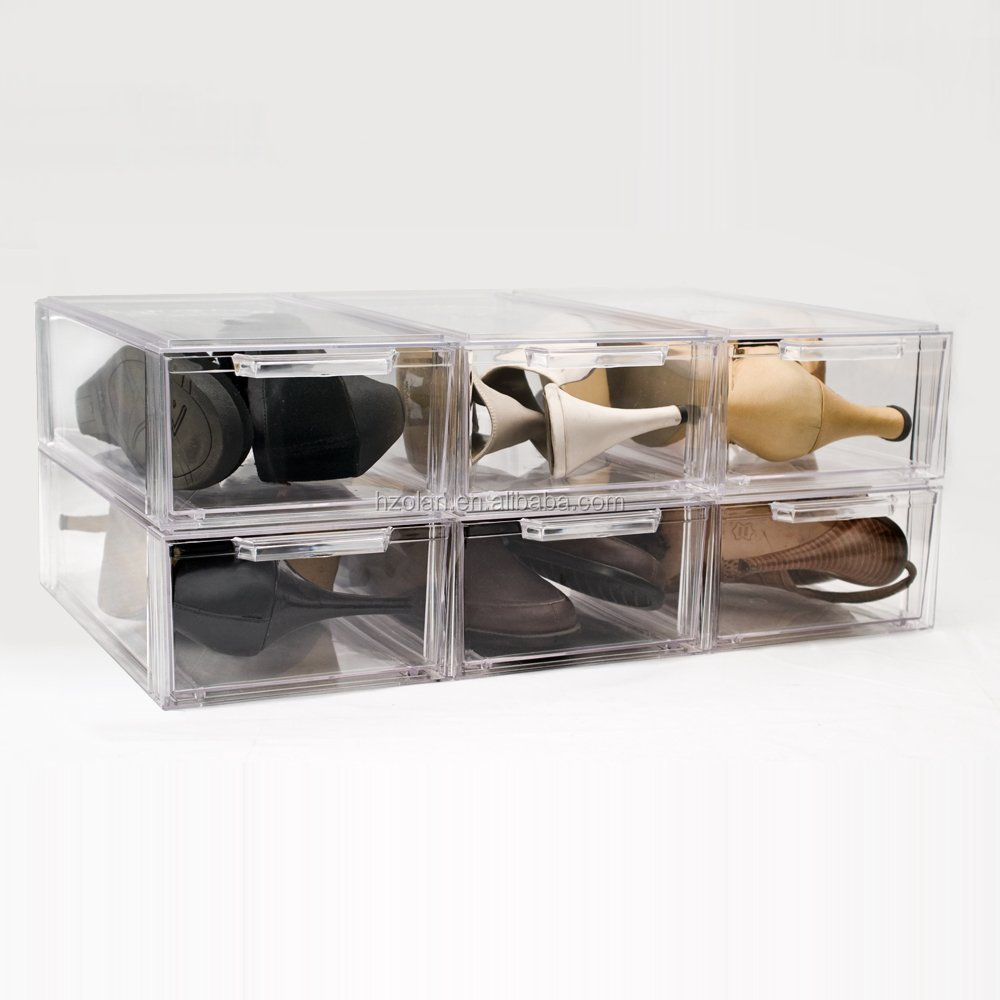 Crystal Clear Acrylic Stackable Storage Drawer Small Buy