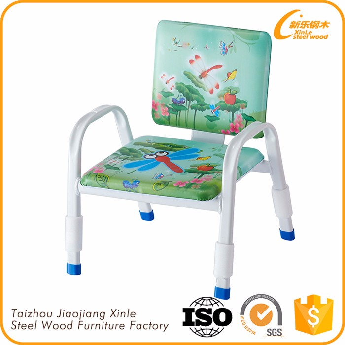 China Wholesale Colorful Metal Legs Baby Sitting Chair