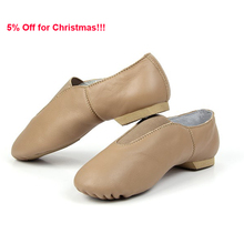 High Quality Low MOQ Women Girls Wholesale Dance Leather Jazz Shoes