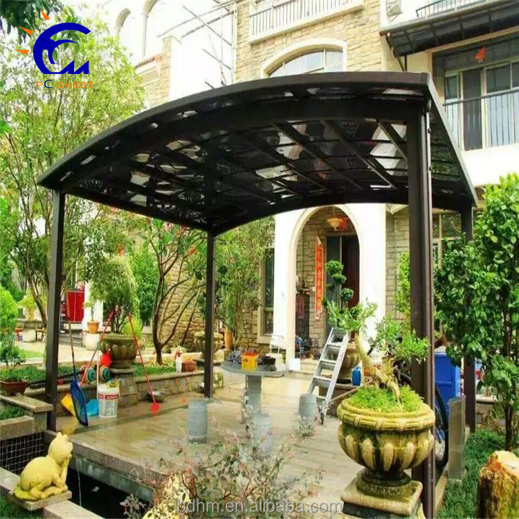carports PC material car parking canopy tent outdoor