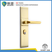 italy zinc wood custom design door handle