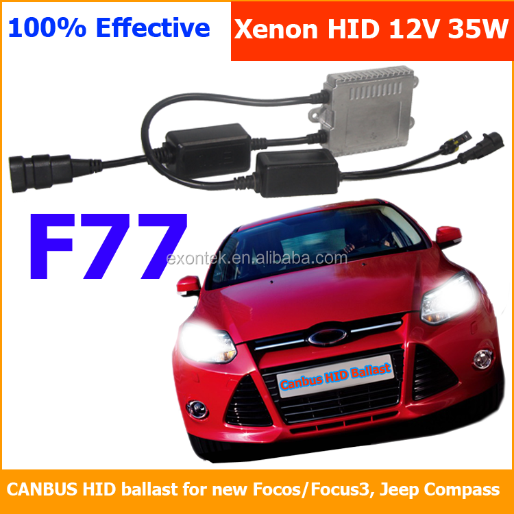 Best selling auto parts car hid xenon ballast KET 9-16v canbus ballast Xenon ballast 35W