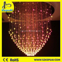 Hot sale fiber optic chandelier for hotel from China