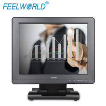 12 inch USB powered touch screen display resistive 4 wire led backlight window support pos screen monitor