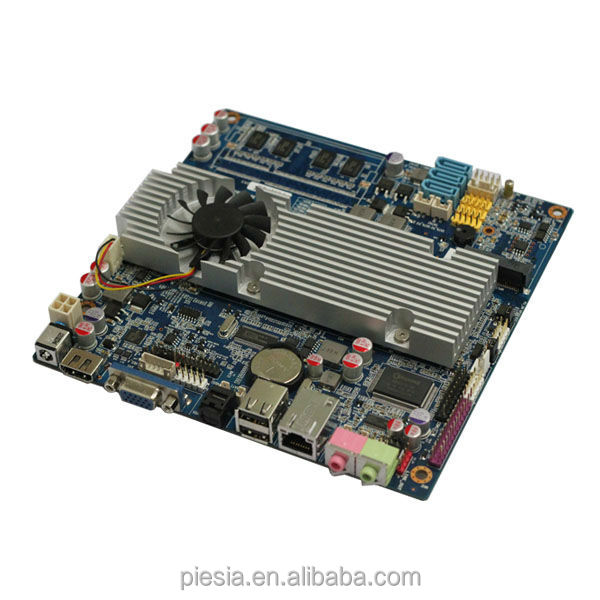 The cheapest celeron motherboard with lvds mini -itx router motherboard with1*mini PCIE for WIFI