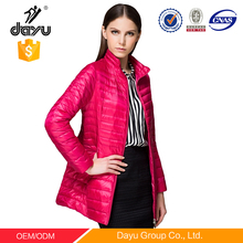 Girl daily wear dress women down coat light down jacket jacket for women