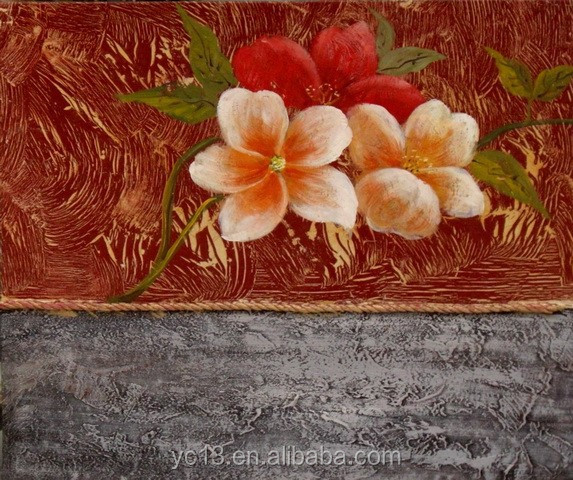 wholesale art supplies modern flower oil painting ct-359