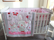 applique embroidery baby nursery quilt