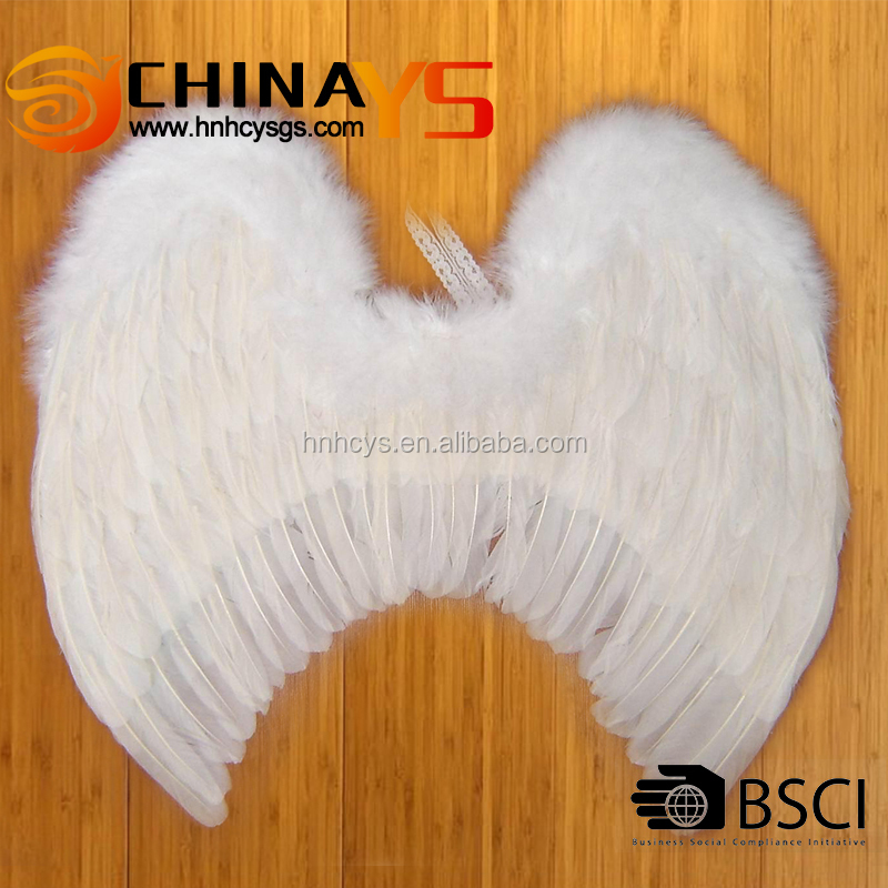 BSCI factory audit YS 8041 carnival feather wings 55x50cm wholesale on promotion