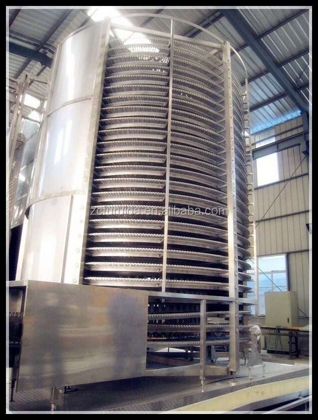 Spiral quick freezing machine/Chicken slaughtering machine / Poultry slaughtering equipment