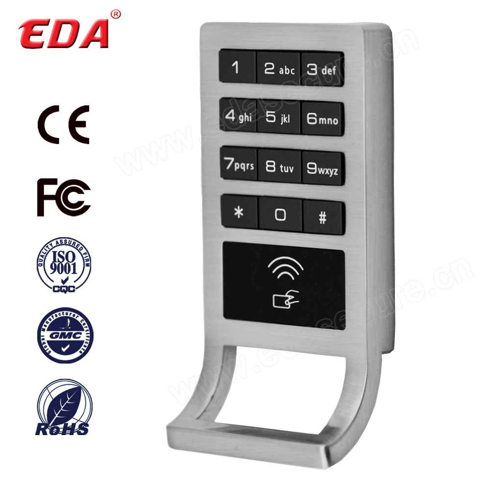 Modern Electronic Number Key Card Cabinet Lock