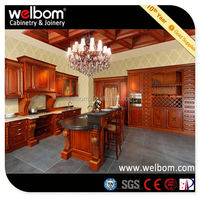 2013 WELBOM Best Selling Modern Indian Kitchen Cabinet Design