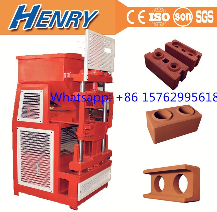 HR2-10 hydraulic press cement soil brick making machine, fly ash brick molding machines for sale