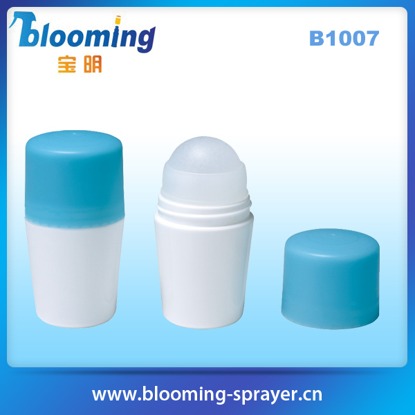 plastic wholesale new design perfume roll on plastic bottle