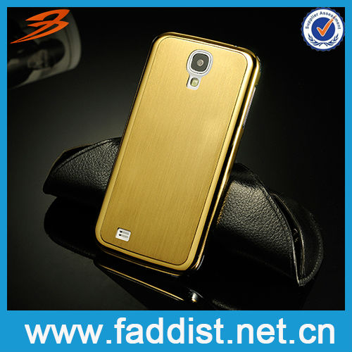 New arrival cover for galaxy s 4 gold case