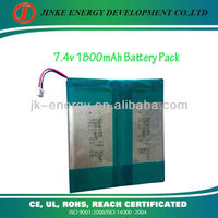 High voltage universal 7.4v 1800mah laptop battery