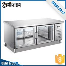 Chinese Factories Vegetable And Fruits Fruit Countertop Display Cooler