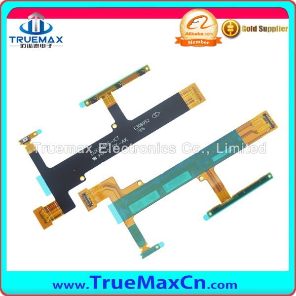 Original New Side Power Button Volume key Flex Cable For Sony Xperia XA F3111 Repair Parts