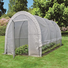 Adaptability Polytunnel Sheet Metal Houses Commercial Farming House Greenhouse Polycarbonate
