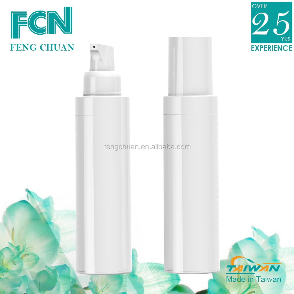Empty plastic custom cosmetic container packaging lotion bottle