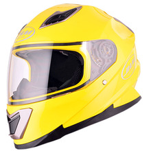 Fashionable ABS material single visor full face Motorcycle helmet