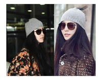 Fashion Knitting Wool Hat Women Keep Warm Winter Beanie Beret Braided Crochet knitted Hats Cap