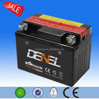 Up-selling qw moto battery, MF qw moto battery with acid pack,12V 3ah battery for qw moto with factory price