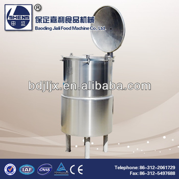 Stainless steel cooking tank with agitator/stirrer