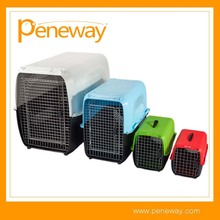 Standard Plastic pet airline cage dog transport cage