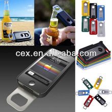 6 Candy Colors Hot Beer Bottle Opener Slide Hard Back Case Cover For iPhone 5