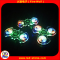 Hot Sale Selling LED Abs Plastic Fidget Toy Hand Spinner Multi-color LED Crystal Hand Spinner