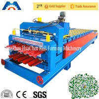 Roofing Sheet Glazed Tile and IBR Iron Sheet Roll Forming Making Machine/Cold Galvanizing Line