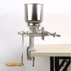 Hand Operating Grain Corn Mill Grinder Manual Maize Flour Milling Machine