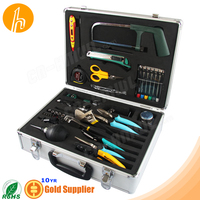 Tools Kit with cable tester tweezer small raw