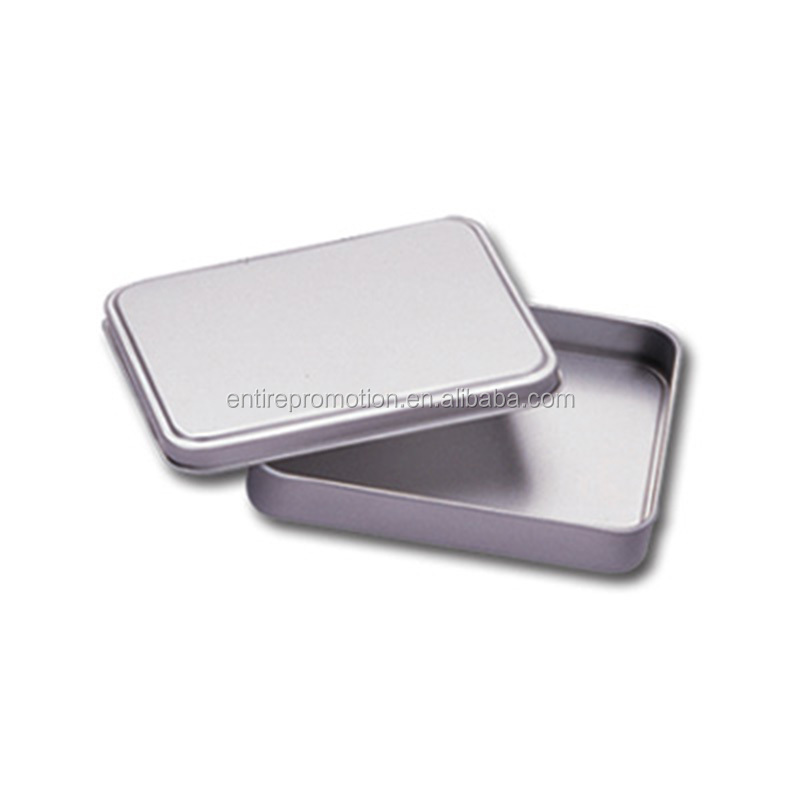 Promotional tin box in packaging boxes,tin box in cans