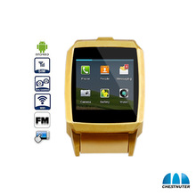 Chestnuter Android 4.2.2 Smart watch Phone CST dual core 1.54 Inch Toucscreen Watch mobile phone wearable device