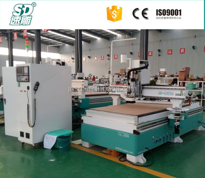 4X8FT Wood CNC Router Machine with Nesting Software Polyboard for MDF Partical Board 18mm