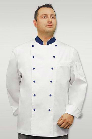 White long sleeve 100% cotton chef wear,chef coat,chef uniform