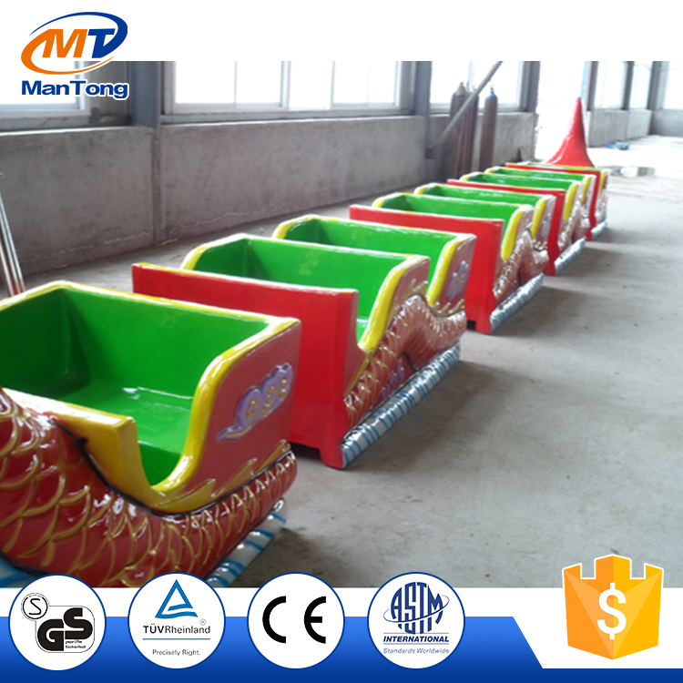 Theme park rides funny mini roller coaster sliding dragon for sale