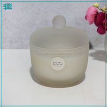 FengJun round ball cute scented waxed candle in glass jar expensive wedding gifts