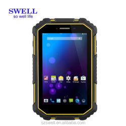 "IEEE 802.11 b/g/n Android 6.0 2GB+16GB 7.0"" IPS 1280*800 IP67 Tablet Rugged"