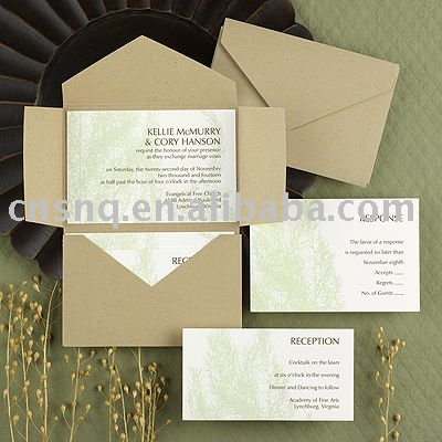 Invitation Greeting Card